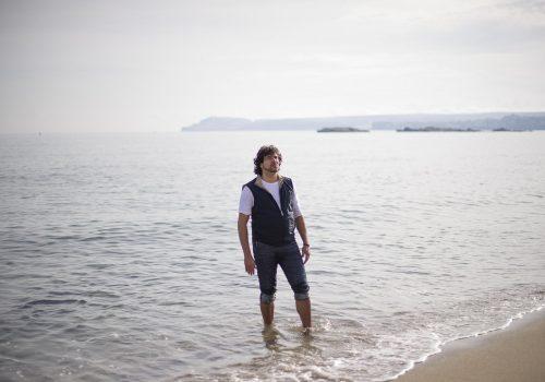 Samuel Arderiu en el mar