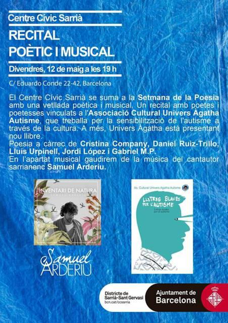 setmana de la poesia amb Samuel Arderiu